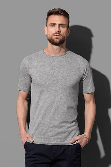 Crew neck T-shirt for men