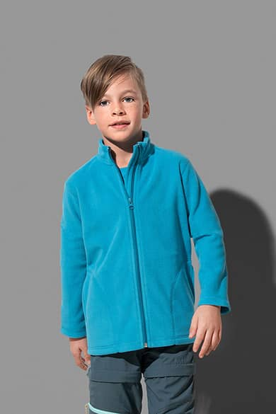 Fleece jacket for children