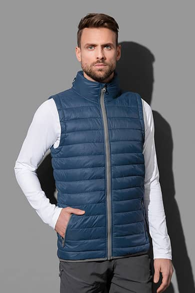 Padded vest for men