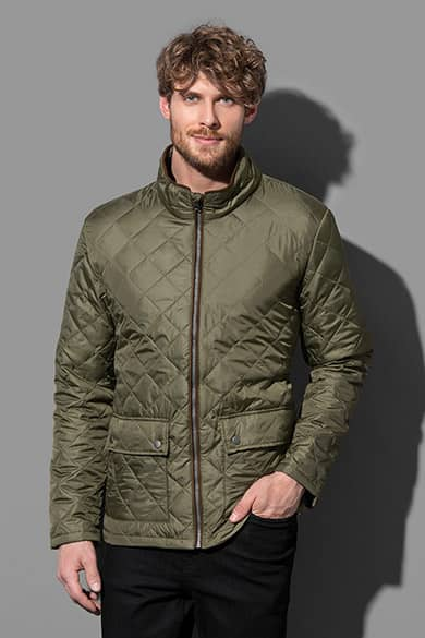 Padded jacket for men