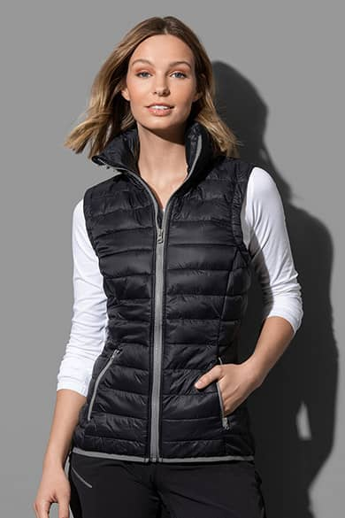 Padded vest for women