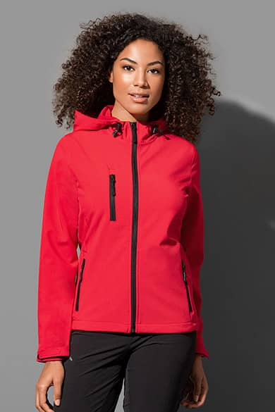 Softshell Hooded jacket for women