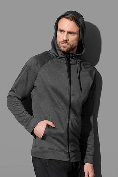 Hooded jacket for men
