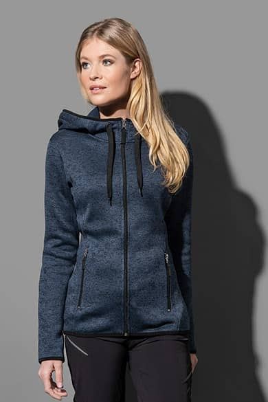 Fleece jacket for women