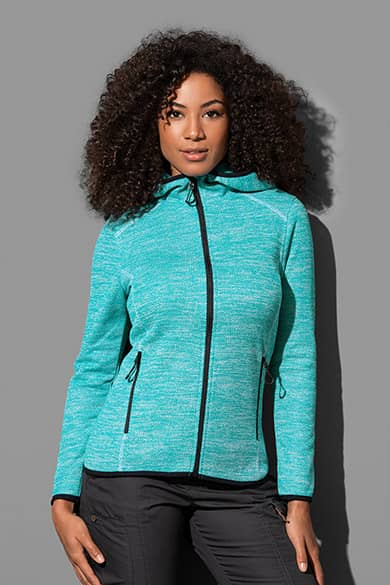 Hooded Fleece jacket for women
